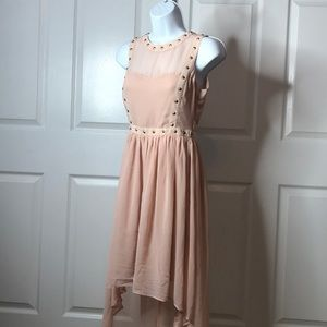 BRAND NEW! Sheer Pink Dress
